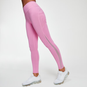 MP Power Mesh Női Leggings - Cukorka Pink