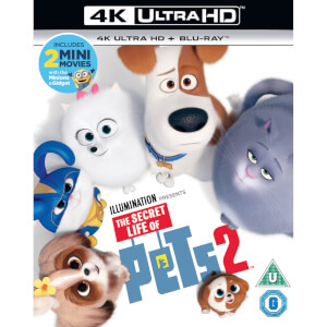The Secret Life of Pets 2 - 4K Ultra HD (Includes 2D Blu-Ray)