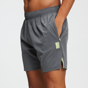 MP Training Men's Stretch Woven 7 Inch Shorts - Carbon