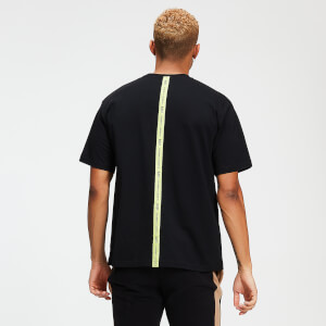 MP Rest Day Men's Tape T-Shirt - Black