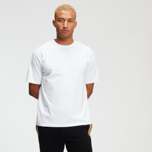 MP Rest Day Men's Tape T-Shirt - White