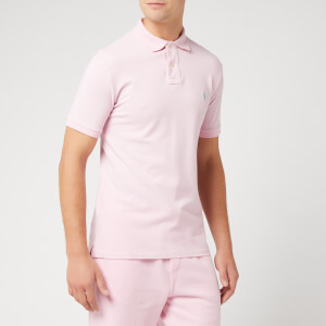 Polo Ralph Lauren Men's Short Sleeve Slim Fit Polo Shirt - Garden Pink