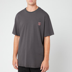 Wooyoungmi Men's Logo T-Shirt - Washed Black