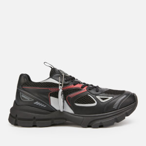Axel Arigato Men's Marathon Running Style Trainers - Black/Red/Grey
