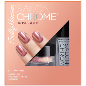 Sally Hansen Salon Chrome Kit - Rose Gold