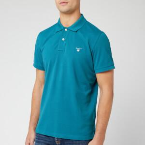 GANT Men's Original Pique Polo Shirt - Saxony Blue