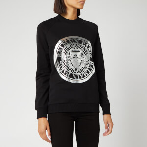 Balmain Women's Coin Sweatshirt - Black