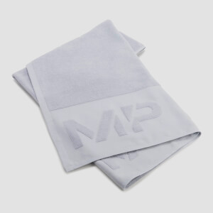 MP Large Towel - Mid Grey