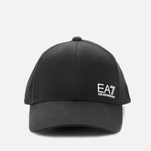 Emporio Armani EA7 Men's Small Logo Cap - Black