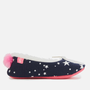 Joules Kids' Dreama Ballet Slippers - Unicorn