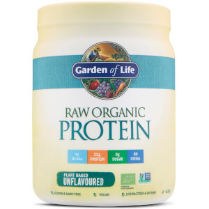 Raw Organic Protein Powder - Unflavored - 426G