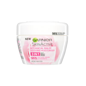 Garnier Natural 3-in-1 Soothing Rose Botanical Balm 140ml
