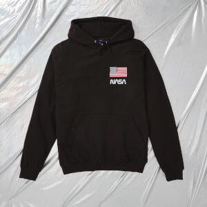 NASA Apollo 11 One Small Step Unisex Hoodie - Black