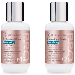 Dr Dennis Gross Skincare Professional Grade Resurfacing Liquid Peel (2 Steps 30ml)