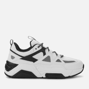 Armani Exchange Men's Chunky Trainers - White/Black