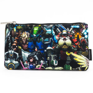 Loungefly Overwatch Character Aop Coin Bag