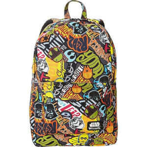Loungefly Star Wars Sticker Print Nylon Backpack