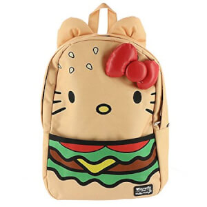 Loungefly Sanrio Hello Kitty Burger Nylon Backpack