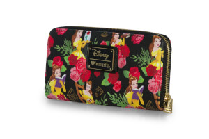 Loungefly Disney Beauty and The Beast Belle Floral Wallet Aop