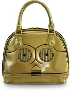 Loungefly Star Wars C3-Po Mini Dome Bag
