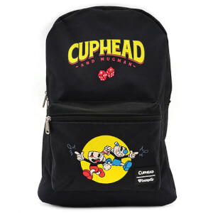 Loungefly Cuphead Deal With the Devil Nylon Backpack