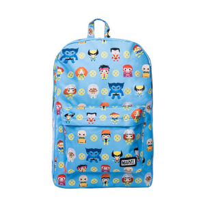 Loungefly Marvel X-Men Chibi Characters Nylon Backpack