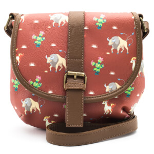 Loungefly Pokemon Tauros Western Style Flap Crossbody Bag