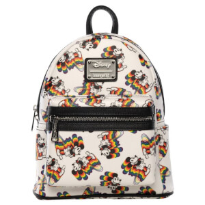 Loungefly Disney Mickey Mouse Rainbows Mini Backpack