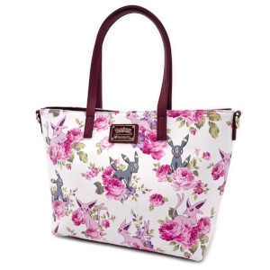 Loungefly Pokemon Espeon Umbreon Floral Tote Bag