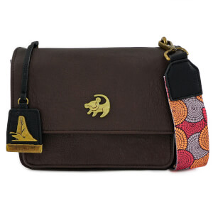 Loungefly Disney Lion King African Floral Xbody Bag-Ar