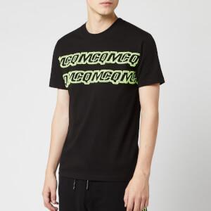 McQ Alexander McQueen Men's Hyper McQ Repeat T-Shirt - Darkest Black