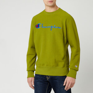 Champion Men's Big Script Sweatshirt - Green