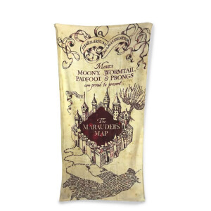 Harry Potter Marauder's Map Towel 75cm x 150cm