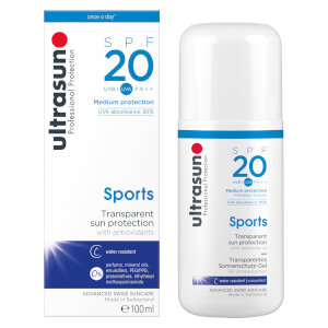 Ultrasun Full Size Sport SPF20 Sun Protection Gel 100ml (Free Gift)
