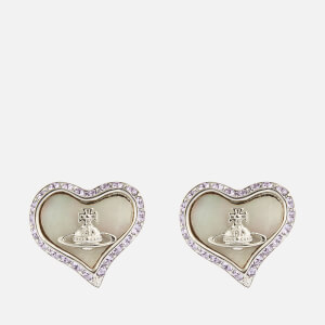 Vivienne Westwood Women's Petra Earrings - Rhodium Violet White