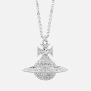 Vivienne Westwood Women's Minnie Orb Pendant - Rhodium Crystal