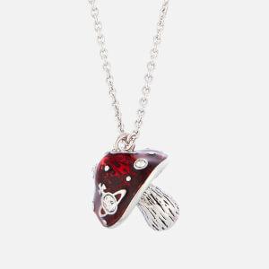 Vivienne Westwood Women's Orla Pendant - Rhodium Crystal Red