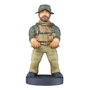 Call of Duty Collectable Captain Price 8 Inch Cable Guy Controller and Smartphone Stand