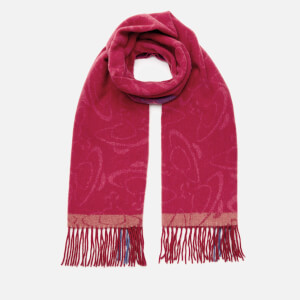 Vivienne Westwood Women's Winter Orb Scarf - Red