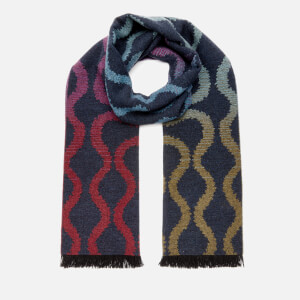 Vivienne Westwood Women's Fire Squiggle Scarf - Blue