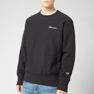 Champion Men's Small Script Sweatshirt - Black