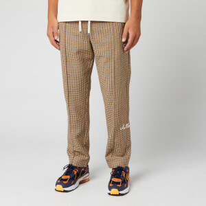 Champion X Clothsurgeon Men's Straight Hem Pants - Brown Check
