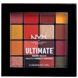 NYX Professional Makeup アルティメイト アイシャドウ パレット - フェニックス 0.83g x 16色