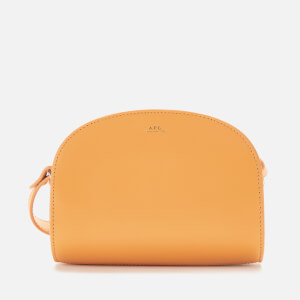 A.P.C. Women's Mini Demi-Lune Cross Body Bag - Yellow