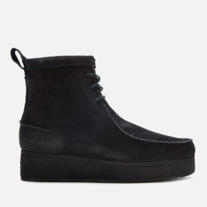 Clarks Originals Women's Wallabee Craft Nubuck Boots - Black