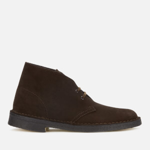 Clarks Originals Men's Suede Desert Boots - Brown