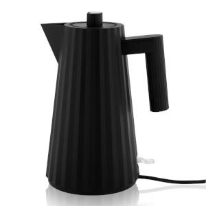 Alessi 1.7L Electric Kettle - Plisse Black