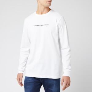 Diesel Men's Just Long Sleeve Top - White