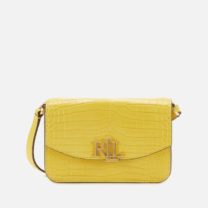 Lauren Ralph Lauren Women's Madison 18 Cross Body Bag - Lemon Sorbet