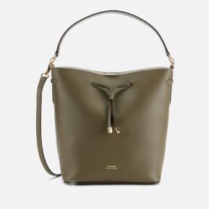 Lauren Ralph Lauren Women's Debby Medium Drawstring Bag - Sage/Vanilla